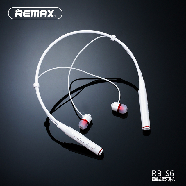 6ac2861fc6a REMAX NECKBAND Running Wireless Bluetooth V4.1 Sport Earphone Headset HD  Voice Call Remind Magnetic Earbuds 105dB Li-polymer