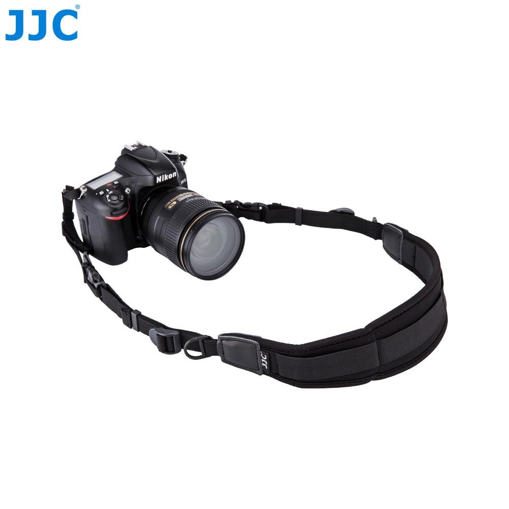 JJC DSLR Neoprene Neck Strap Quick Release Camera Shoulder for Canon 1300d/Sony a6000/Nikon d5300/d3200/d750 Rapid Camera-strap