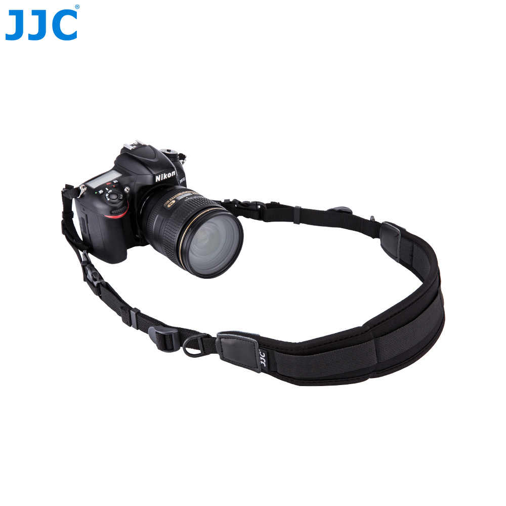 JJC DSLR неопреновый шейный ремешок Quick Release Камера плеча для Canon 1300d/sony a6000/Nikon d5300/d3200/d750 быстрого Камера-ремень