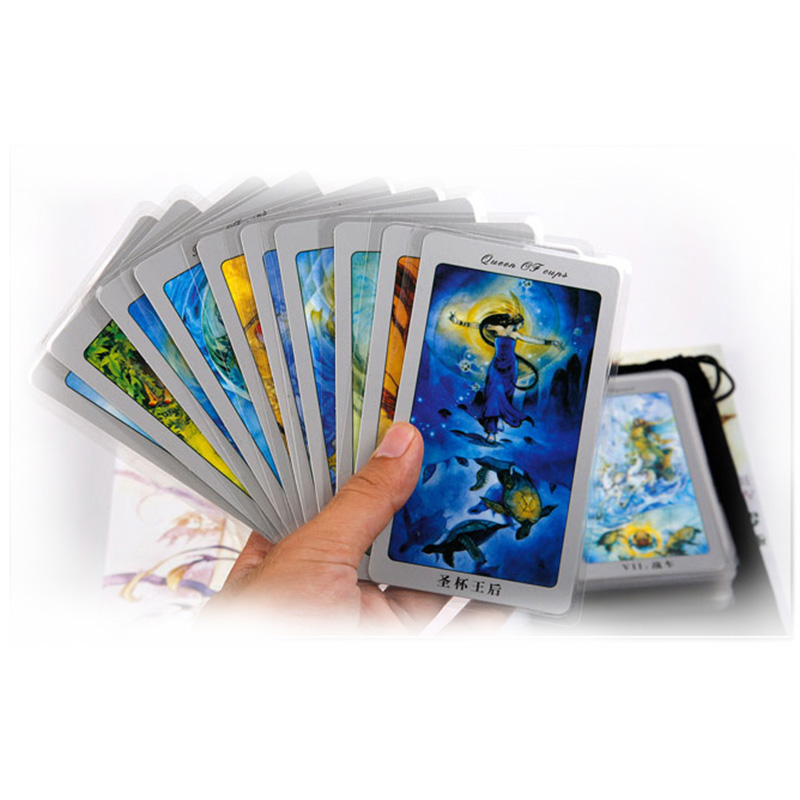 Waterproof The Classic/Waite/Shadowscapes Tarot Board Game 78 PCS Cards Chinese/English Edition for Astrologer with the classic tarot карты