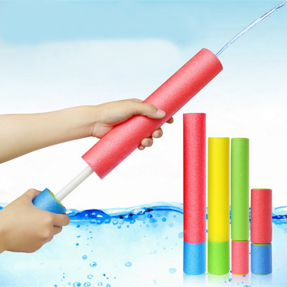1pc Foam Water Pistol Shooter Super Cannon Kids Toy For Children Beach Water Guns Water Shooter Soakers Color Random