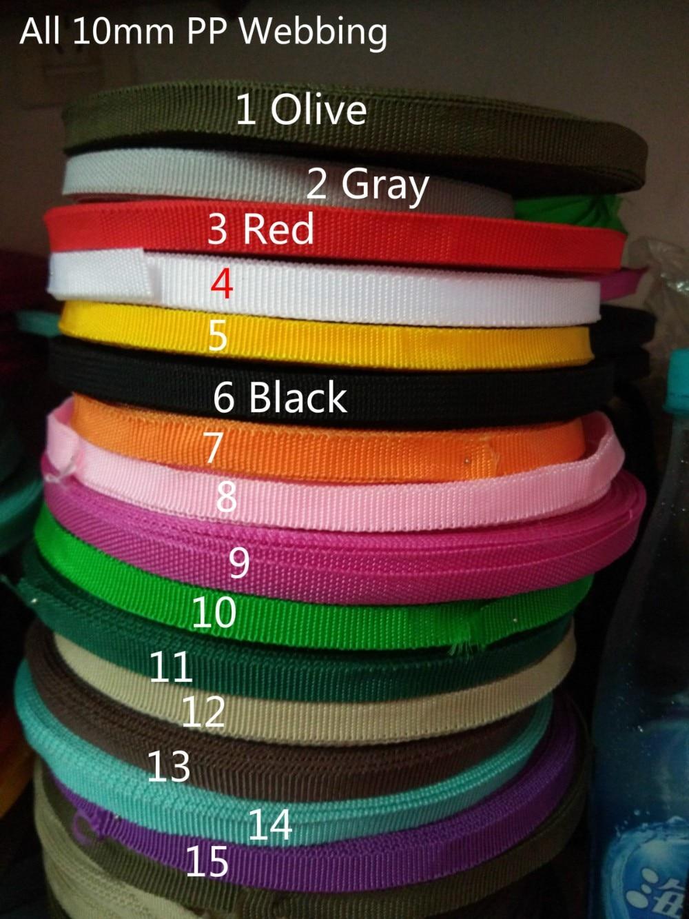 50 Meter 10mm 3 8 Lebar Anyaman Polyester Ribbon Tape Untuk Tas Pakaian Rumah Tekstil 15 Warna Polyester Webbing Tape Webbing Tapepolyester Webbing Aliexpress