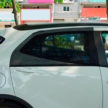 Car Window Sun Shade Mesh Black Color UV Protection Auto Window Rear Door\Side Sun Shades Cover