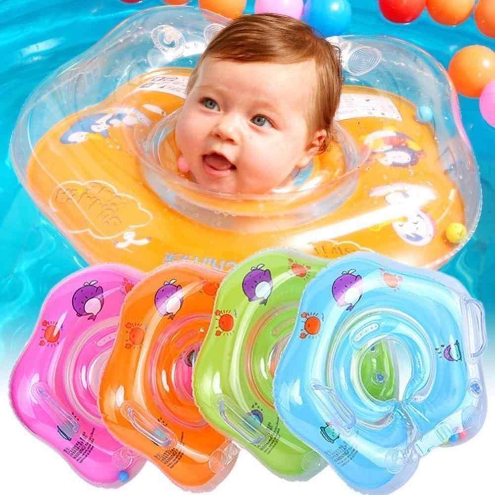 Niños inflable Flamingo piscina flotador seguridad infantil natación anillos  de asiento barco balsa con mango para cc377e90cd6