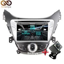 Sinairyu Android 8.0 Octa Core Car DVD Player for Hyundai Elantra Avante I35 GPS Navigation Multimedia Radio Stereo Head Unit