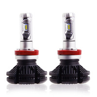 2Pcs Super Bright 50W 12000LM H4 Led Bulb H7 H8 H11 9005 HB3 Headlight Car Led