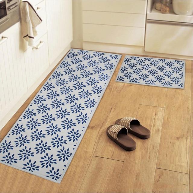 Yazi algod n antideslizante alfombra cocina alfombra del - Alfombras dormitorio ikea ...