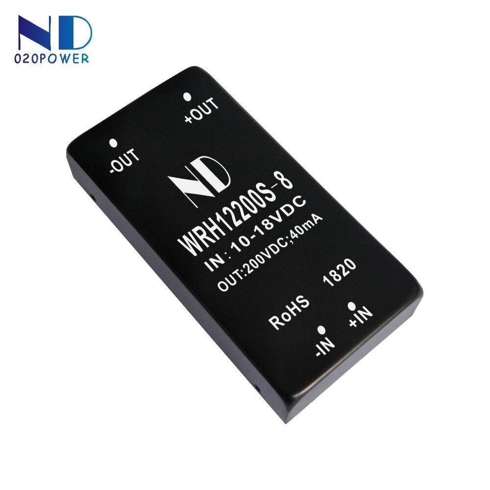 1 pcs 2018 nouvelle haute tension dc dc boost converter 12 v à 200 v dc-dc module de puissance qualité marchandises