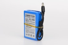 MasterFire 10set/lot High Quality DC 12V 3000mAh Lithium-ion Rechargeable Battery Batteries Pack For CCTV Camera 12300