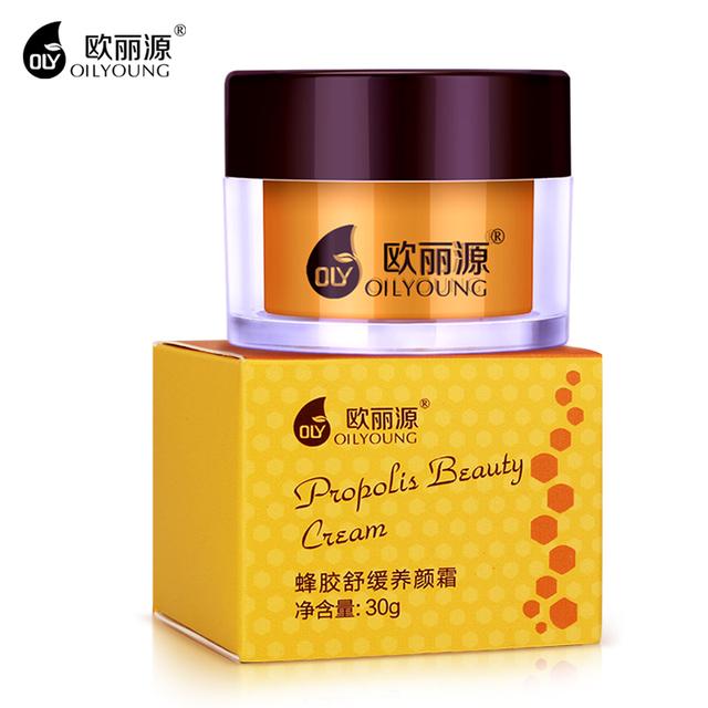 OILYOUNG Anti-Envejecimiento Crema de Propóleo Blanqueamiento Antiarrugas Reducir Los Poros Hidratante Nutritiva Cremas de Belleza Cuidado Facial Brighting