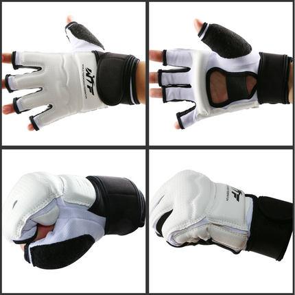 кожаные боксерские перчатки