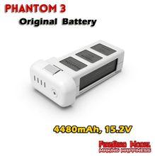 100% Original DJI Phantom 3 Inteligente Vuelo Batería Para DJI Phantom 3 Profesional/Avanzado/4 K/Estándar