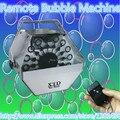 1 шт./дистанционного Bubble Maker освещение сцены свадьбы этап DJ оборудование эффекты пузырь машины 100% новый