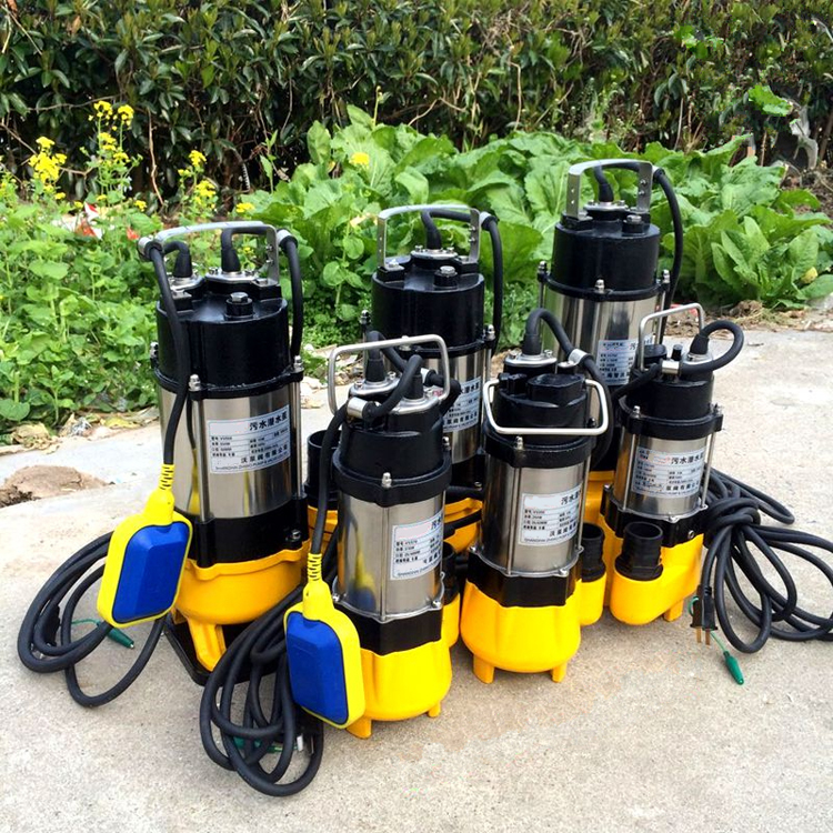 non-clog sewage submersible pump  0.25kw 0.33hp sewage submersible pump for sale 2015 new style submersible pump for sale