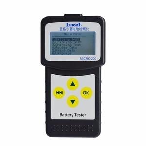 Image 2 - Car CAA Battery Tester 12V lead acid battery tester Lancol MICRO 200 Auto accu tester Battery measurement unit Wholesale