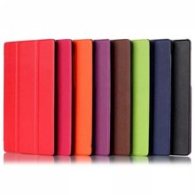 """Caso Para Lenovo Tab2 A7-10F A7 10 Tablet 7 """"Tableta Magnética Delgada de LA PU de Cuero Elegante Del Soporte de la Cubierta Trifold"""