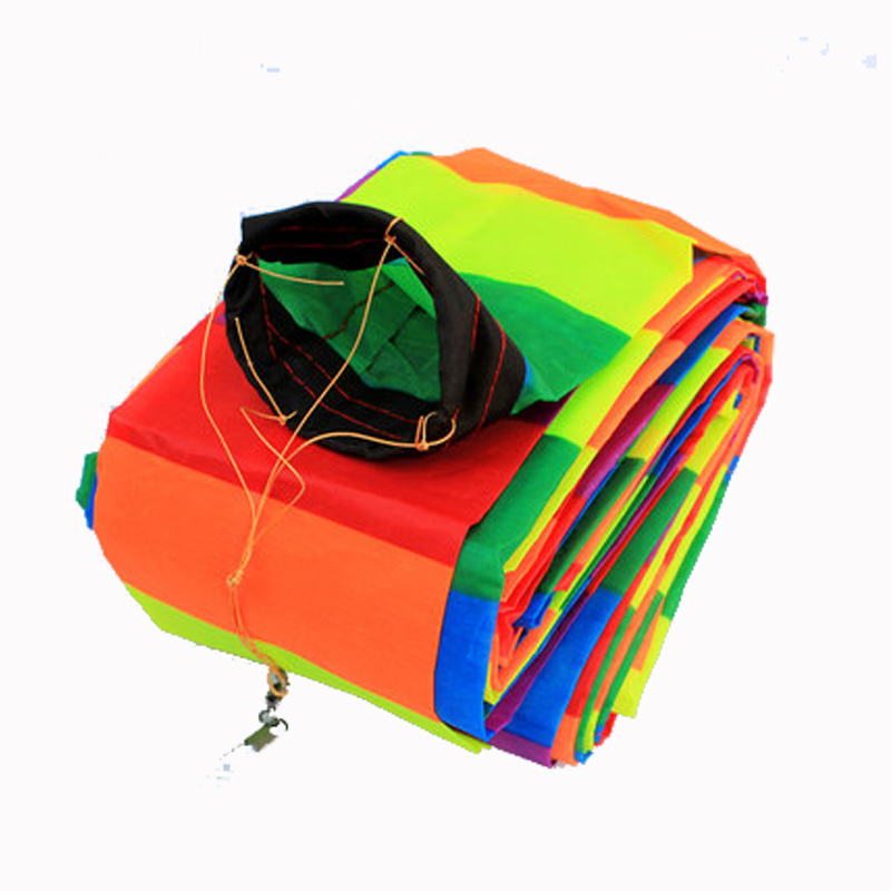 Professional KIte Kite Accessories /10-30m Rainbow 3D /Tube Tail For Delta Kite/Stunt /software Kites Kids Gift