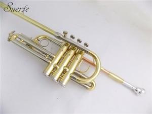 Image 3 - BB Herald ทรัมเป็ตพร้อมปากเป่า Lacquer สีเหลืองทองเหลืองทรัมเป็ตเครื่องดนตรี