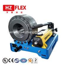 China hydraulic crimping tool P16HP 1 inch R2 hose portable press brake crimper 7 sets of dies