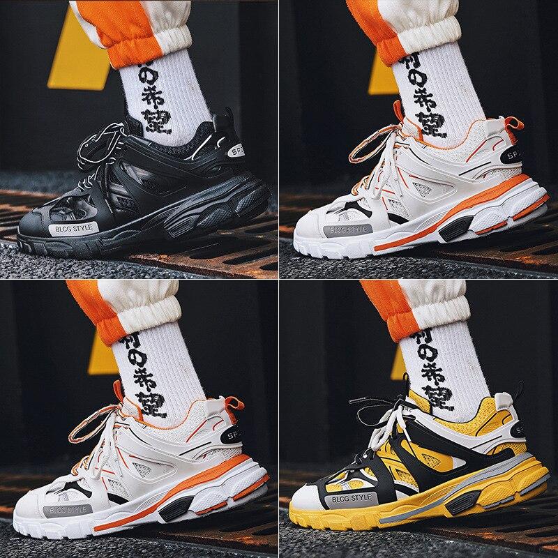 JYRhenium 2019 New Design Retro Men Running Shoes Zapatos De Mujer Athletic Hombre Tenis Sneakers
