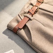 Belted Harem Long Pants SR01