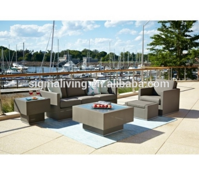 New Arrival Garden Furniture Official Sofa Set Rattan Chairs For