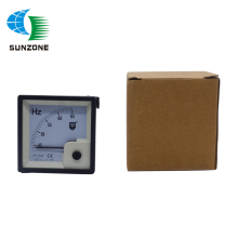7L2 AC 100V 220V 380V Analog Panel Frequency Meter Tester Gauge Hertz Indicator 45-65 Hz - 72*72mm