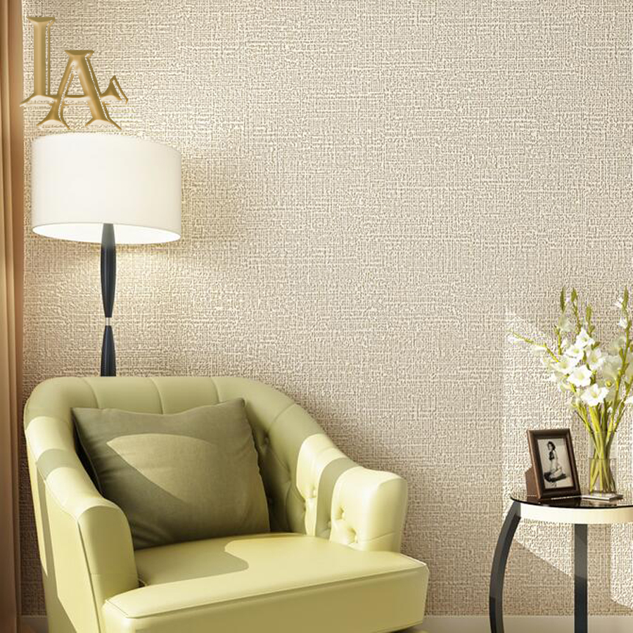 Minimalist Home Decor Modern Textured Wallpaper Roll Bedroom Living room Sofa TV Background ...