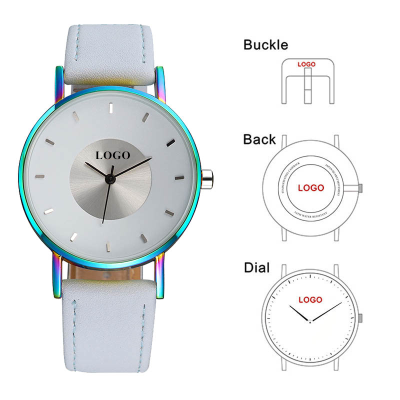 B 8211 My Brand Name Logo Printed Watches Private Label ...