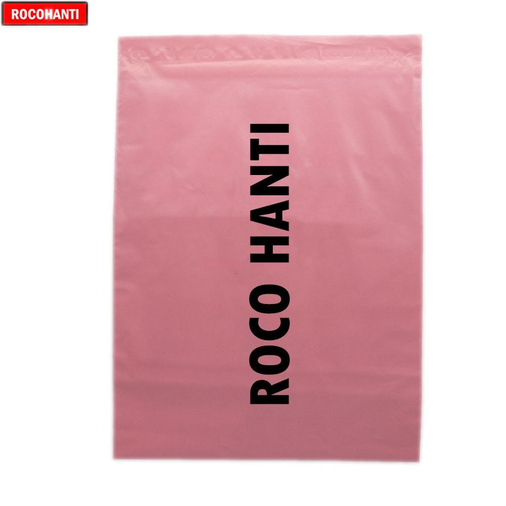 100x Custom Logo Printed Baby Pink Color Satchels Post Bags Poly Mailing Bags Shopping Bag
