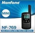 New Nanfone NF-769 UHF 0.5W 25 Channels CTCSS Setting Mini Walkie Talkie