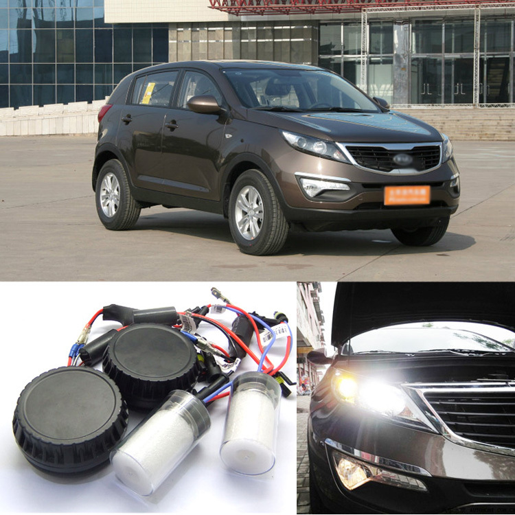 цена Ownsun New Generation All In One Lower Beam Error Free H7 HID Lights For KIA Sportage R 2010-2015