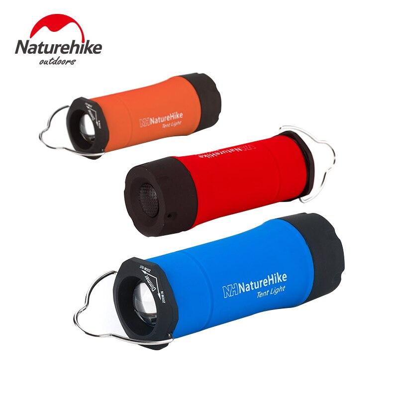 NatureHike 130 Lumen Wasserdichte Mini CREE R2 LED Taschenlampe Tragbare 3-Modus Camping Lampe Laterne Wandern Licht Sicherheit Überleben