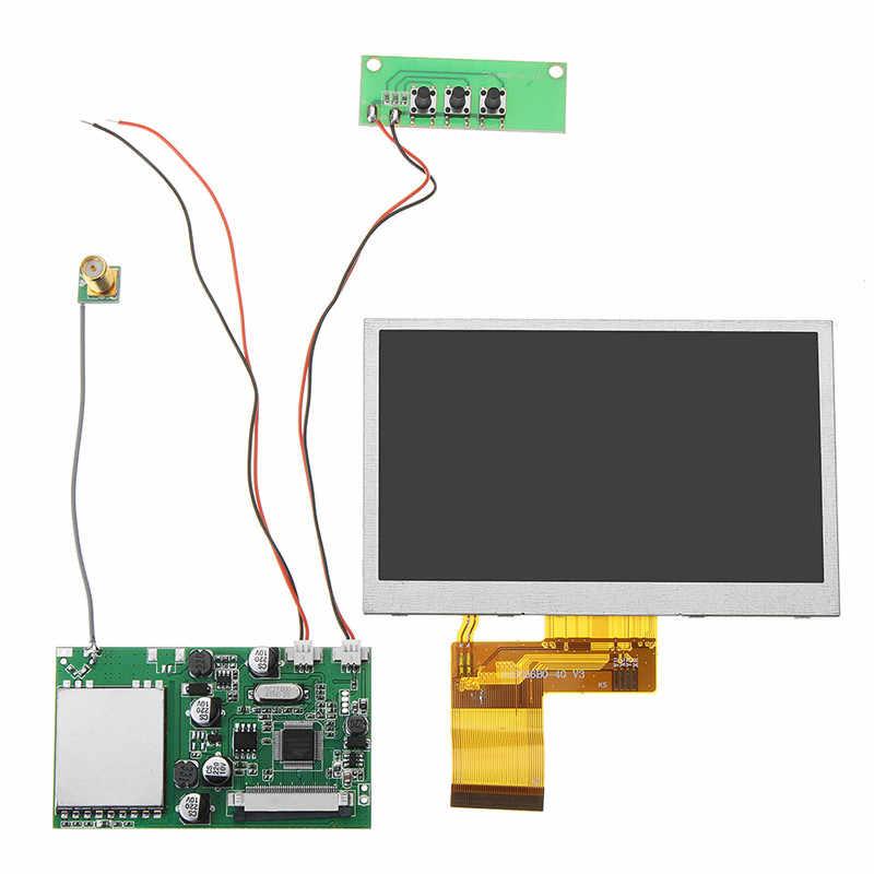 RX5808 5,8 Г 48CH fpv-приемник W/5 дюймов HD Displayer снег экран мониторы для FPV системы очки RC гоночный Drone DIY часть Асса