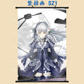 Japanese Anime Clockwork Planet RyuZU & Marie Bell Breguet & AnchoR Home Decor Wall Scroll Poster Decorative Picture image