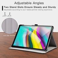 "galaxy tab BOZHUORUI smart cover case for Samsung Galaxy Tab s5e 10.5"" Tablet SM-T720 SM-T725 Stand Hand Strap,for samsung tab s5e case (4)"