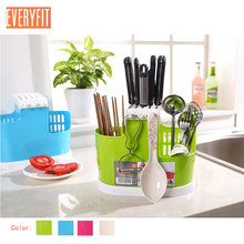 Home Kitchen Storage Knife Spoon Chopsticks Fork Multifunction Box Rack Cutlery Holder Plastic For Dining