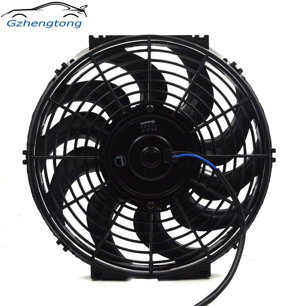 Gzhengotng Universal 12 Electric Cooling Fan Radiator Film 12v 24v Hot Rod