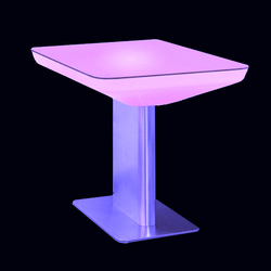 Lumineux LED Deco interieur/exterieur Table de bar cuisine Bar Cocktail Table SK-LF22 (L88*W54*H100cm)  2pcs/Lot