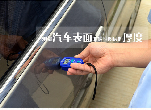 car auto Paint thickness Tester meter gauge detector mini digital for iron  metal aluminum EM2271 ALL SUN Brand