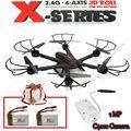 El Envío Gratuito! X600 2.4G 6 Axis 3D Rollo de MJX RC FPV Aérea Quadcopter y C4010 Cam + Envío Libre 2 de La Batería