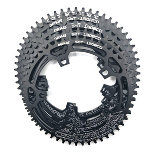 Image 4 - DECKAS مستديرة 130BCD 50 T/52 T/54 T/56 T/58 T الدراجات سلسلة الدراجة دراجة سلسلة دراجة كرانكبيت لوحة BCD 130 مللي متر الأسنان لوحة شحن مجاني