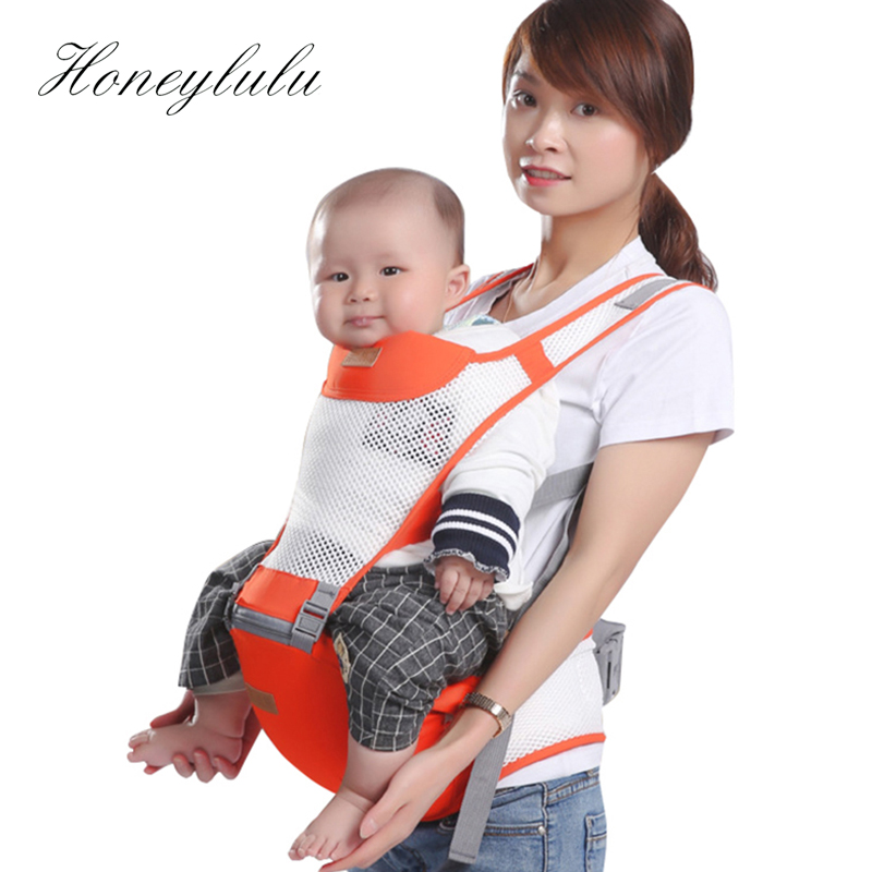 Honeylulu Summer Breathable Baby Carrier Waist Stool Sling For Newborns Kangaroo For Baby Ergoryukzak Baby Backpack Hipsit