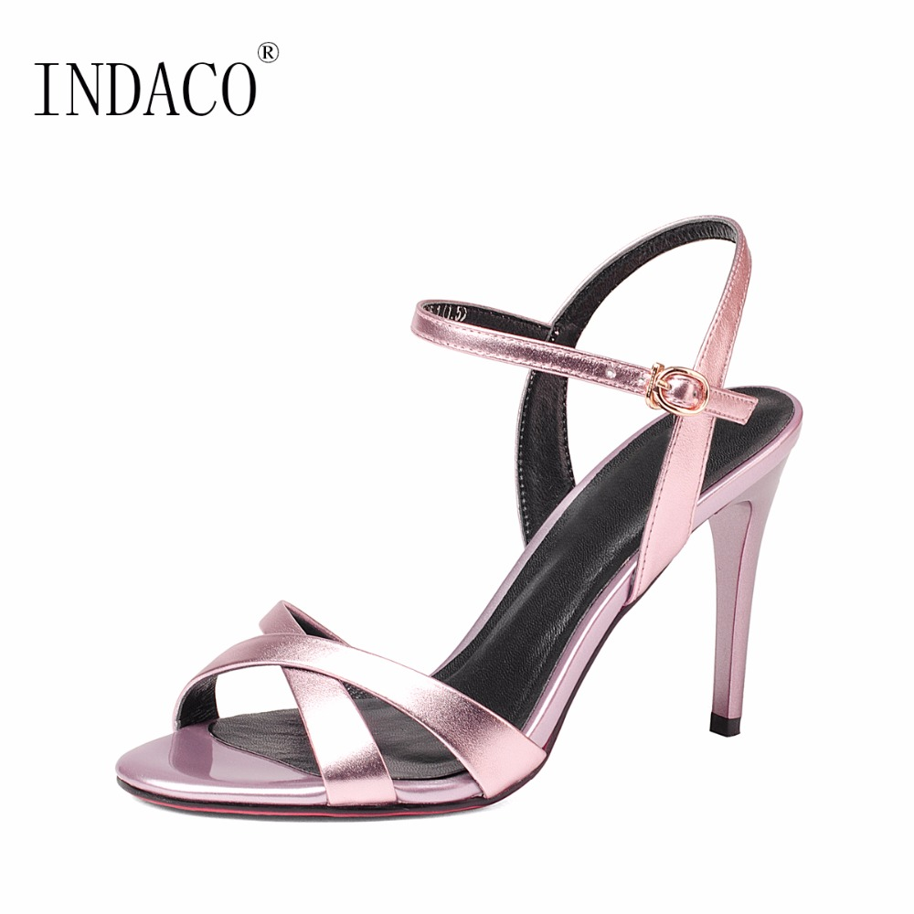 2018 New Gold Pink Summer Shoes High Heels Sandals Women Sandalias Mujer 3d ручка funtastique neo gold pink