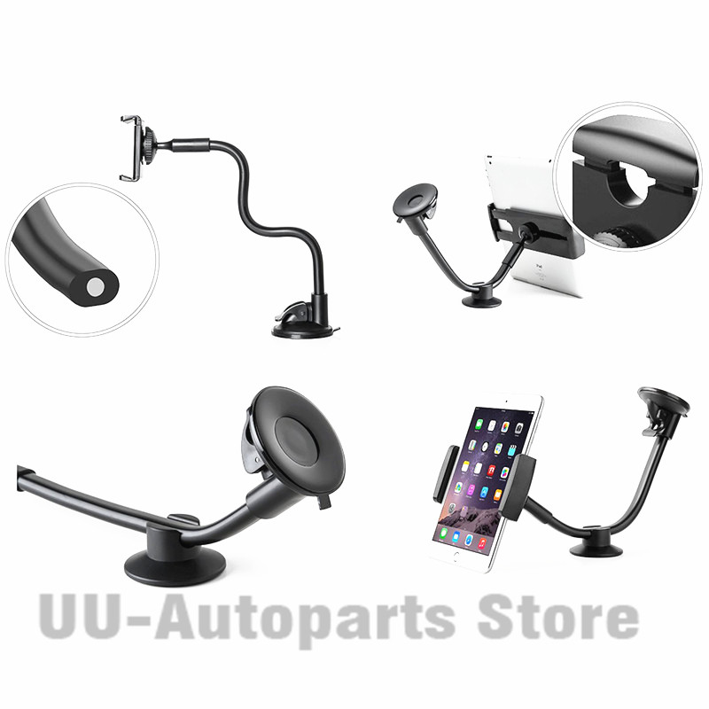 Car Phone Mount Cradle 2 Sizes Long Arm Universal Windshield Dashboard for iPhone 7 Plus Samsung S7 DXY in Universal Car Bracket from Automobiles Motorcycles
