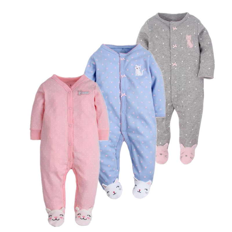 Baby clothing ! 2019 new born baby clothes newborn - 1 years old ropa baby girl   romper   100% cotton baby costume
