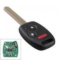 313 8Hz 2 1 Buttons Replacement Remote Control Car Key Fob Transmitter Clicker Alarm With Chip46