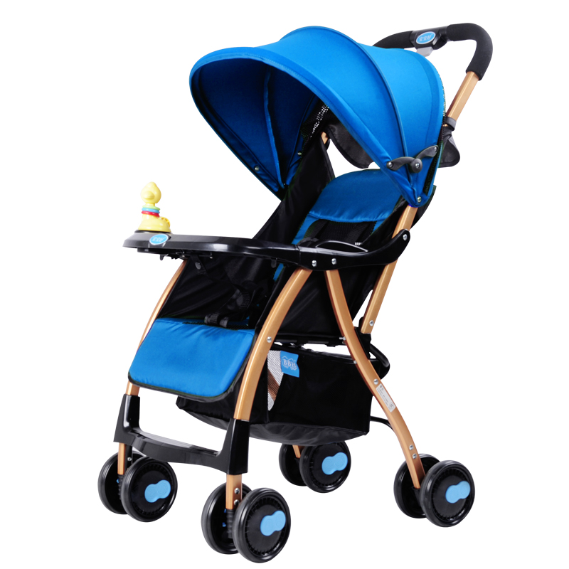 Baby stroller light folding stroller cart portable child car umbrella baby stroller
