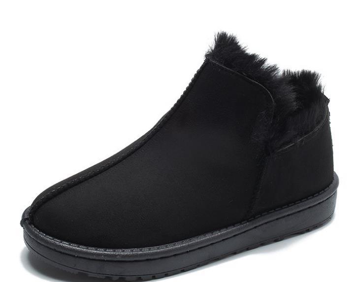 7d2bec56 Caliente Y Zhaoxiaohui Las Bajo La Botas Coreana Felpa Dixinyili Ola  Invierno De Zapatos Mujeres Boca ...