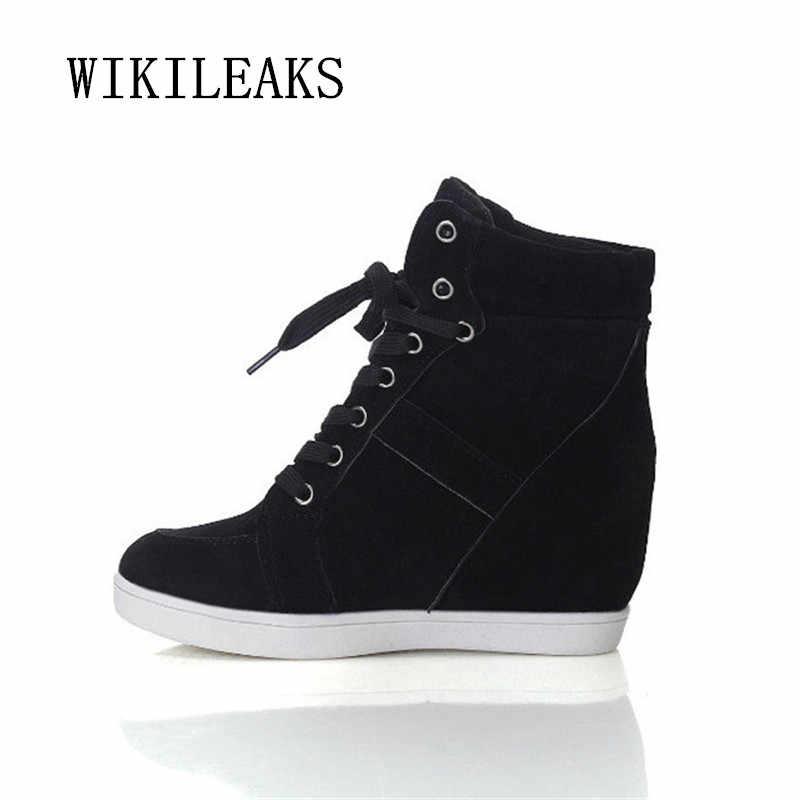 c42e2b68f Подробнее Обратная связь Вопросы о 2019 повседневная обувь, женские сникерсы  на платформе, увеличивающие рост, женская обувь на танкетке, женская обувь  из ...